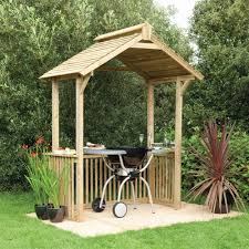 patio furniture gazebo forest garden wooden gazebo bbq shelter internet gardener