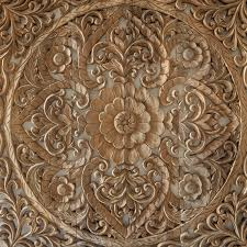 carved wall panel from bali siam sawadee