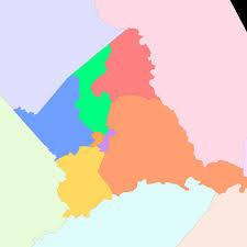 Virginia Highway Map by Culpeper County Va