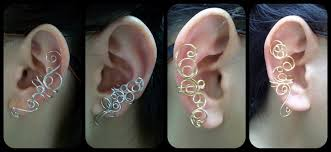 how to make ear cuffs wire ear cuffs by sodacrush on deviantart