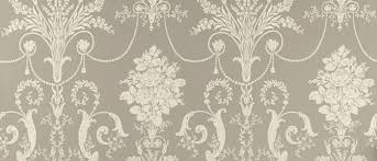Laura Ashley Home by Patterend Wallpaper Josette Pewter Grey Patterned Wallpaper At