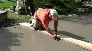 How Much To Concrete Backyard How To Pour Concrete Driveway Youtube