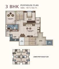 Mandir Floor Plan by Ananta Builders