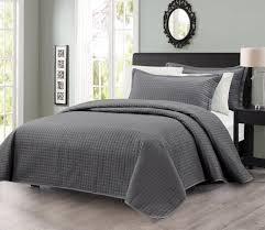turquoise quilted coverlet delboutree charcoal gray turquoise bedding sets sale bedding