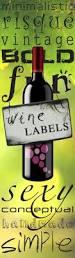 halloween wine labels creative and unusual wine labels wine ponder