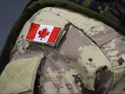 Canadian Flag Patch Landmark Study Shows Canadian Military Veterans At Greater Risk Of