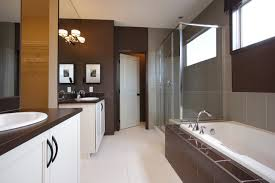 brown wall color houzz