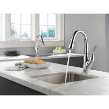 Delta Brushed Nickel Kitchen Faucet Kitchen Captivating Bar Faucet Design For Luxury Your Kitchen