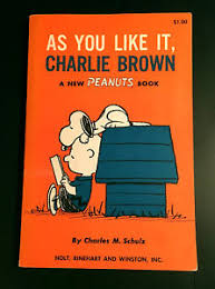 charles schulz vintage signed peanuts book w original art cool