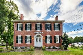 federal style stately federal style brick home built in 1820 picture of black