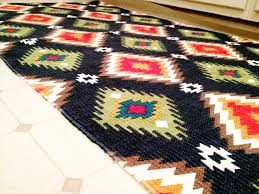 Aztec Kitchen Rug Cup Half Our New Aztec Rug