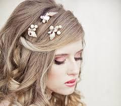 she sells sea shells wedding hair bobby pin set beach wedding