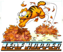 thanksgiving garfield garfield airbrushed artwork leaf hopper u2013 garfield u0027s art gallery