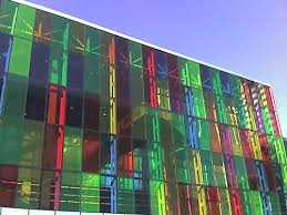 colorful building colorful building in montreal photo page everystockphoto