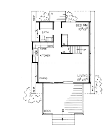 one bedroom home plans a frame home plan 810 square 1 bedroom 1 bathroom