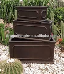 Square Planter Pots by Durable Cement Chelsea Planter Box Wholesale Cement Chelsea Square