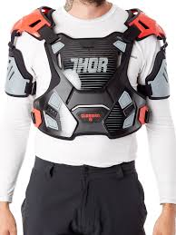 thor black 2017 guardian mx chest protector thor