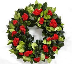 celosia flower dried celosia flower wreath dried flower wreath