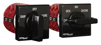 ac source selector switches marine newmar dc power onboard