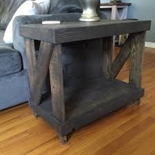 Farmhouse Side Table Farmhouse Side Table New Decor