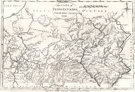 Virginia Map With Cities And Towns by 1800 U0027s Pennsylvania Maps
