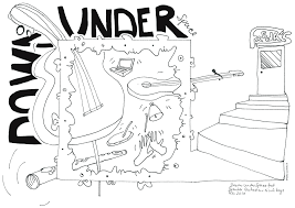 hand drawn review the splinter orchestra at down under space
