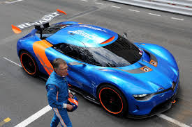 renault supercar renault alpine a110 50 u0027s run at the monaco gp coo says there u0027s a