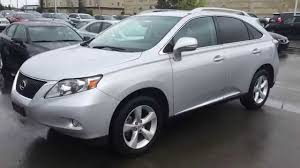 lexus suv 350 pre owned silver 2011 lexus rx 350 awd review sherwood park