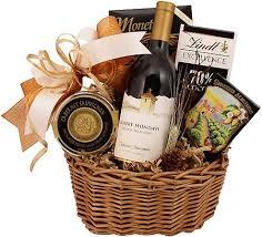 wine and gift baskets classic wine gift basket