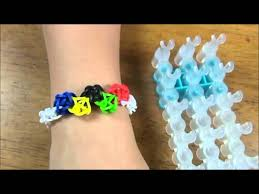 bracelet rubber bands youtube images Olympic theme rubber band bracelet made with rainbow loom jpg