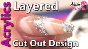 acrylic layered cut out design youtube