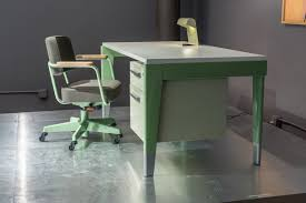 Vitra Office Desk Vitra U0026 G Star Raw Launch Prouvé Raw Office Edition Design Milk