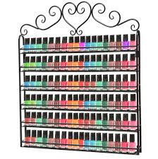 nail polish organizer wall mount home design ideas