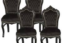 black dining room chairs set of 4 lovely 4 dining chairs 7 photos 561restaurant com