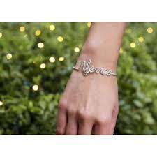 Personalized Name Bracelet Products Jewelry Women Bracelets Personalized Twisted