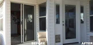 Removing Sliding Patio Door Replace Sliding Glass Door With Single Door T3nql