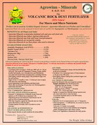 Rock Dust For Gardens Rock Dust Mineral Fertilizer For Soil Remineralization And