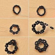 make necklace from beads images Pandahall original diy project vintage black seed bead choker jpg