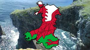 Map Of Wales Flag Map Of Wales Speedart Youtube