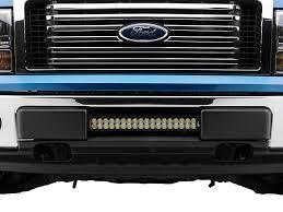 f150 bumper light bar vision x f 150 bumper light bar mount w 21 in led light bar xil