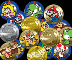Challenge Montage 2017 Mario Challenge Coin Decal Blind Bags
