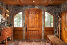 rustic stone and log homes modern stone and log homes mt hood oregon log home by precisioncraft
