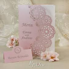 your beautiful personalised laser order service or menu