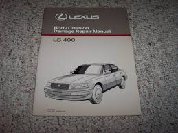 lexus body shop 1990 lexus ls400 ls 400 body shop service repair manual 1991 1992