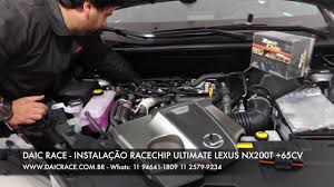 lexus is220d carbon build up daic race racechip ultimate instalação lexus nx200t 11 2579 9234
