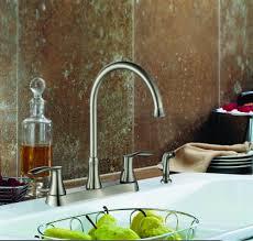 two handle kitchen faucet w side spray ksk8238ws c u2013 oakland