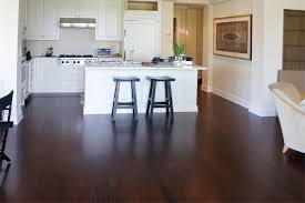 Stained Hickory Cabinets Dark Stained Floors Yellow Pine Stained Dark Hardwood Floors