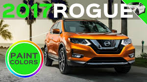2017 nissan rogue colors youtube