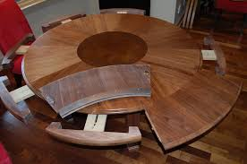 expandable dining room table plans pleasant design round expandable dining table all dining room