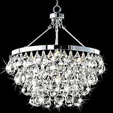 Pottery Barn Celeste Chandelier Amazon Com Wesley Crystal 6 Light Chandelier With Clear Teardrop